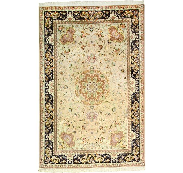 6' 7 x 10' 1 Tabriz Persian Rug