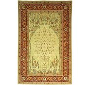 Link to 4' 5 x 6' 9 Kashan Persian Rug