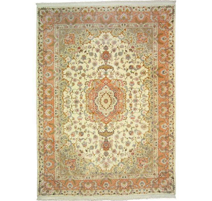 8' 3 x 11' 4 Tabriz Persian Rug