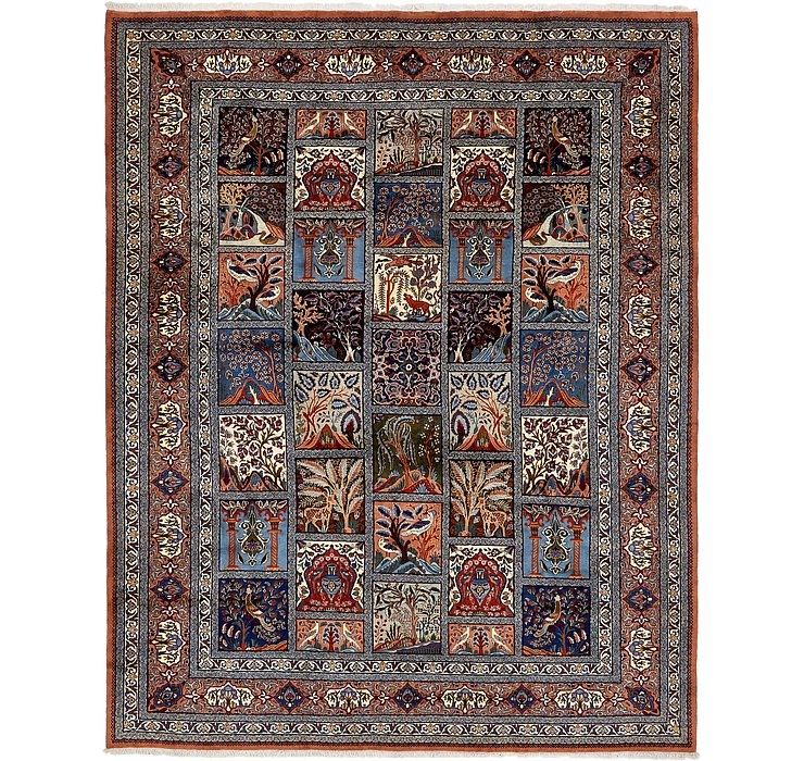 9' 10 x 12' 4 Kashmar Persian Rug