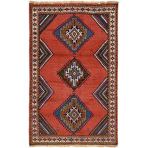 3' 10 x 6' 2 Ghoochan Persian Rug