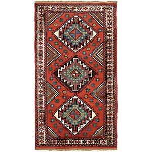 3' 11 x 6' 9 Ghoochan Persian Rug