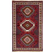 Link to 3' 10 x 6' 5 Ghoochan Persian Rug
