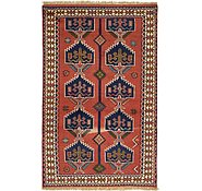 Link to 4' x 6' 4 Ghoochan Persian Rug