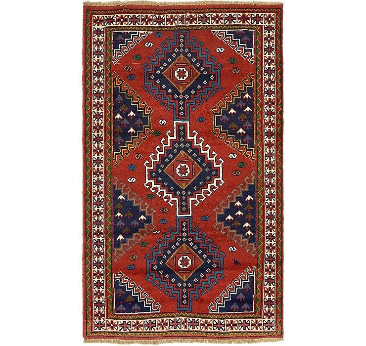 4' x 6' 10 Ghoochan Persian Rug