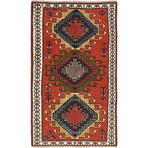 3' 9 x 6' 5 Ghoochan Persian Rug