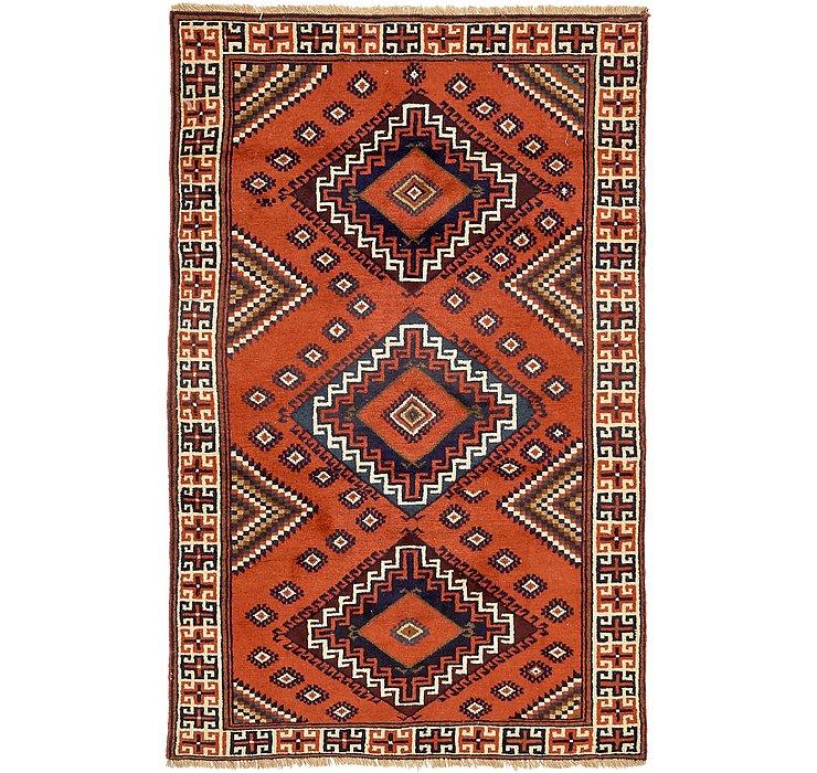 3' 11 x 6' 2 Ghoochan Persian Rug