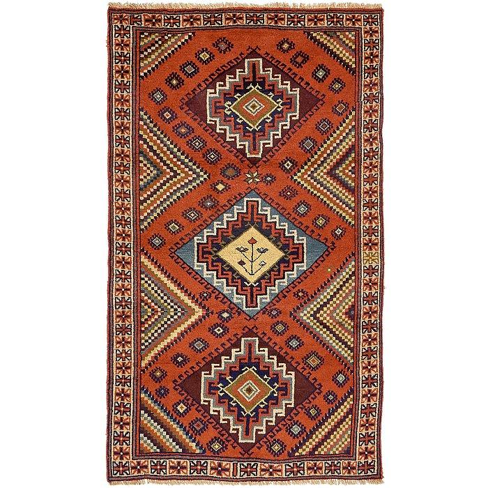 3' 8 x 6' 4 Ghoochan Persian Rug