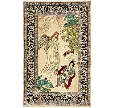 104x160 Isfahan Rug