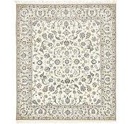 Link to 8' 6 x 9' 10 Nain Persian Rug