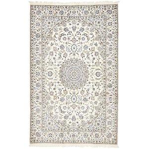 5' 1 x 8' Nain Persian Rug