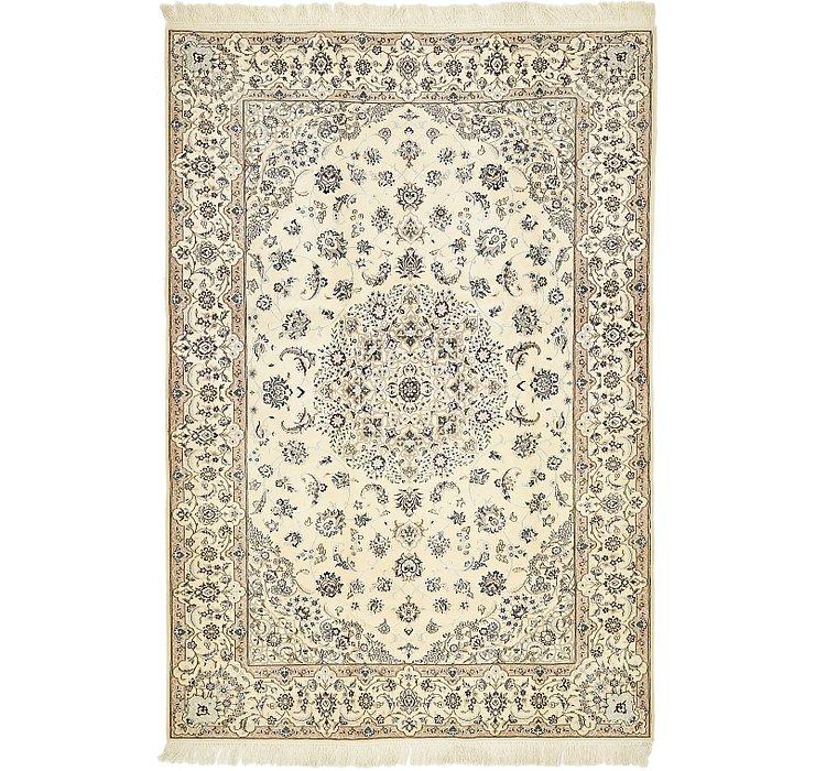 5' 3 x 7' 9 Nain Persian Rug