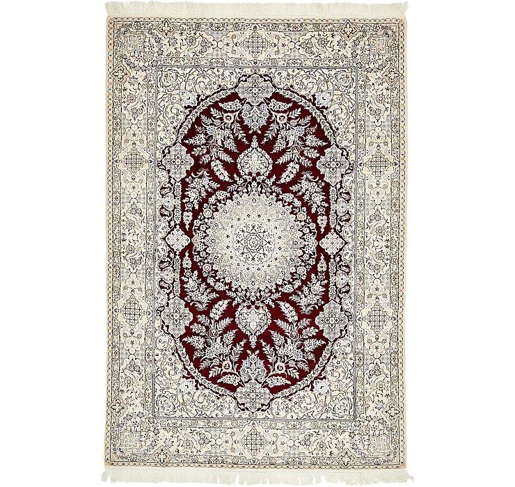 4' 10 x 7' 4 Nain Persian Rug