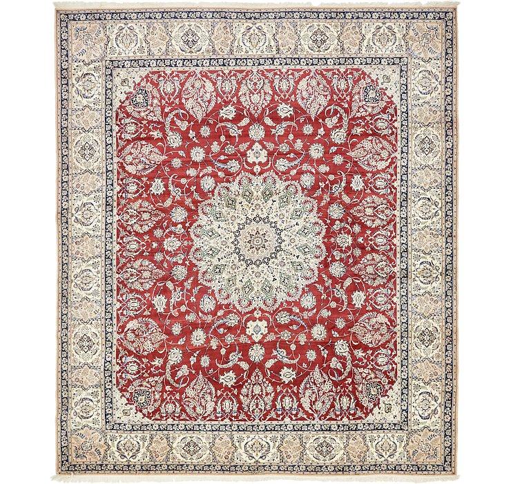 11' 6 x 13' 3 Nain Persian Rug