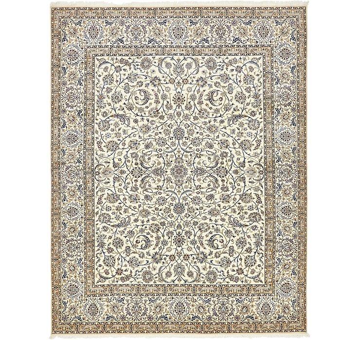 10' 4 x 13' 2 Nain Persian Rug