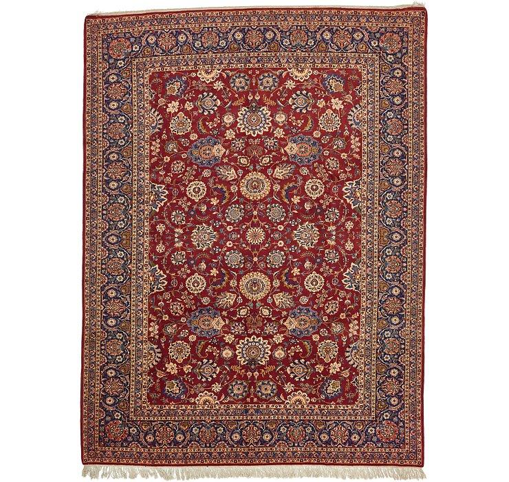 10' 6 x 14' Kashan Persian Rug