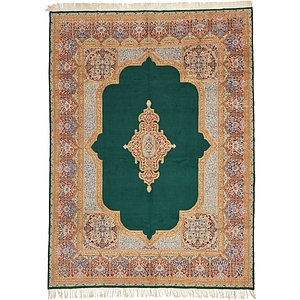 Unique Loom 10' 4 x 13' 10 Kerman Persian Rug