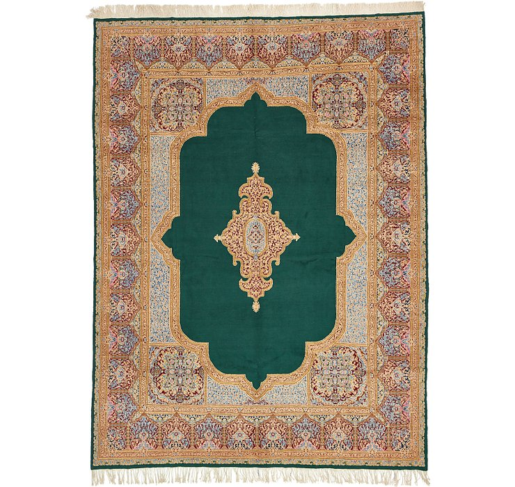 10' 4 x 13' 10 Kerman Persian Rug