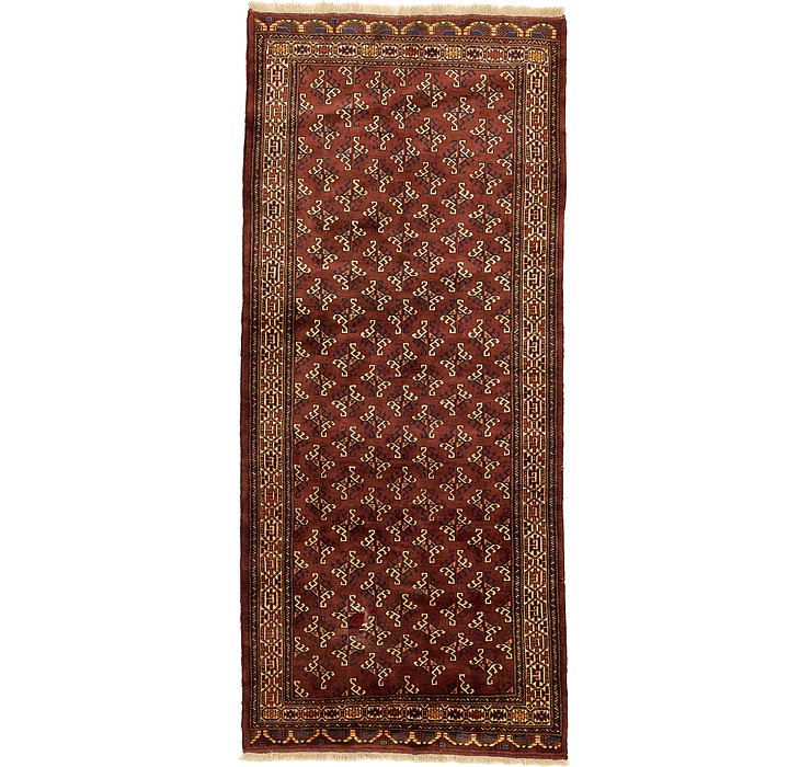 142cm x 325cm Shiraz Persian Runner Rug