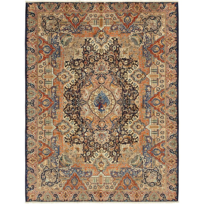 9' 6 x 12' 8 Kashmar Persian Rug