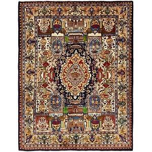 9u0027 8 X 12u0027 5 Kashmar Persian Rug