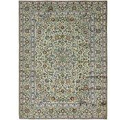Link to 9' 2 x 12' 2 Kashan Persian Rug