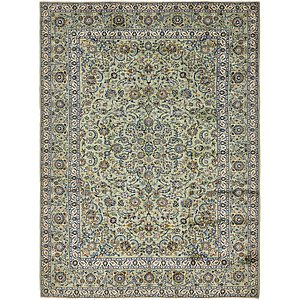 280cm x 370cm Kashan Persian Rug