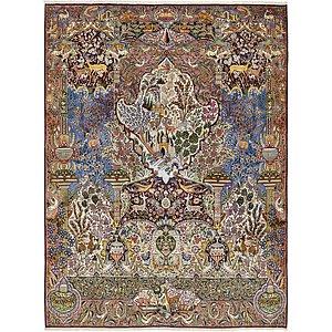 9' 8 x 12' 7 Kashmar Persian Rug