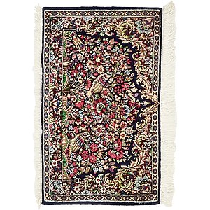 Unique Loom 1' 7 x 2' 8 Kerman Persian Rug