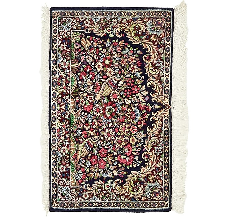 HandKnotted 1' 7 x 2' 8 Kerman Persian Rug