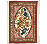 Link to 2' 5 x 3' 4 Qom Persian Rug