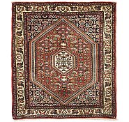 Link to 2' 6 x 2' 9 Bidjar Persian Square Rug