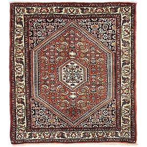 Unique Loom 2' 6 x 2' 9 Bidjar Persian Square Rug