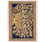 Link to 2' 1 x 3' Qom Persian Rug