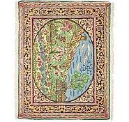 Link to 75cm x 90cm Kerman Persian Rug