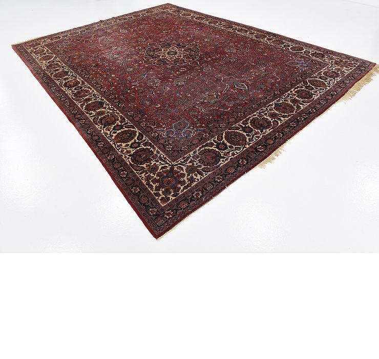 8' 6 x 11' 2 Kashan Persian Rug