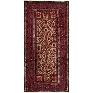 3' 4 x 6' 6 Afghan Ersari Oriental ...