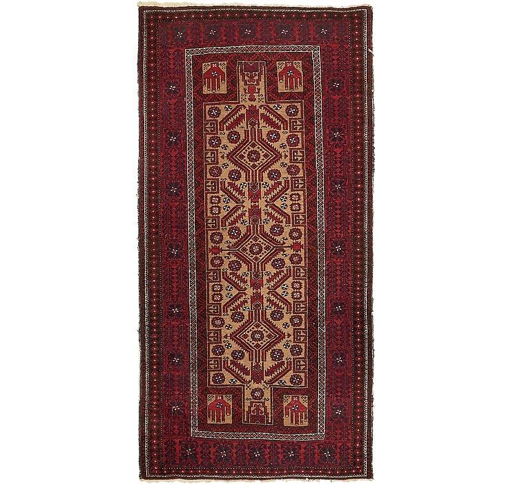 102cm x 198cm Afghan Ersari Oriental ...