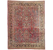 Link to 9' 3 x 11' 10 Sarough Persian Rug