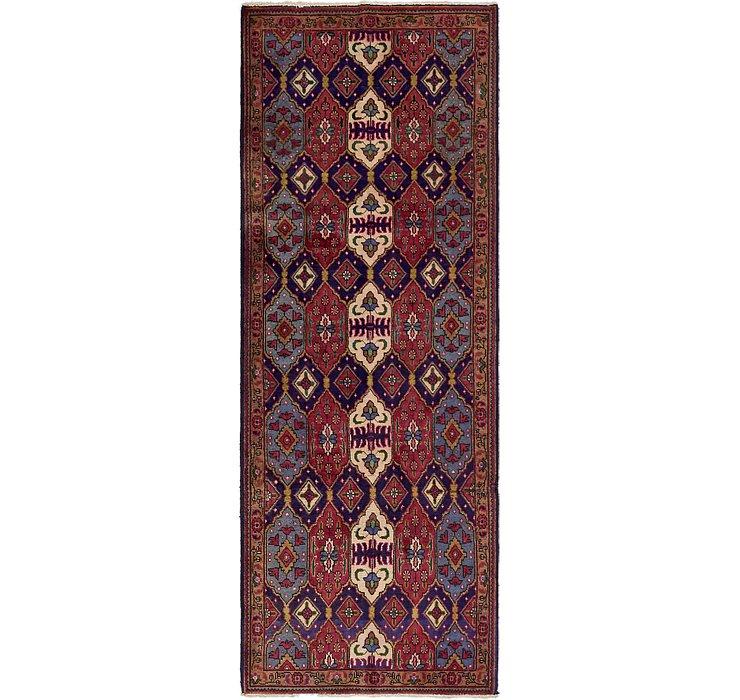 3' 7 x 9' 9 Tabriz Persian Runner Rug