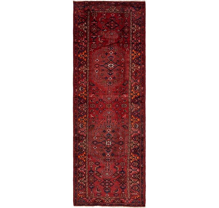 4' 2 x 12' 8 Zanjan Persian Runner Rug