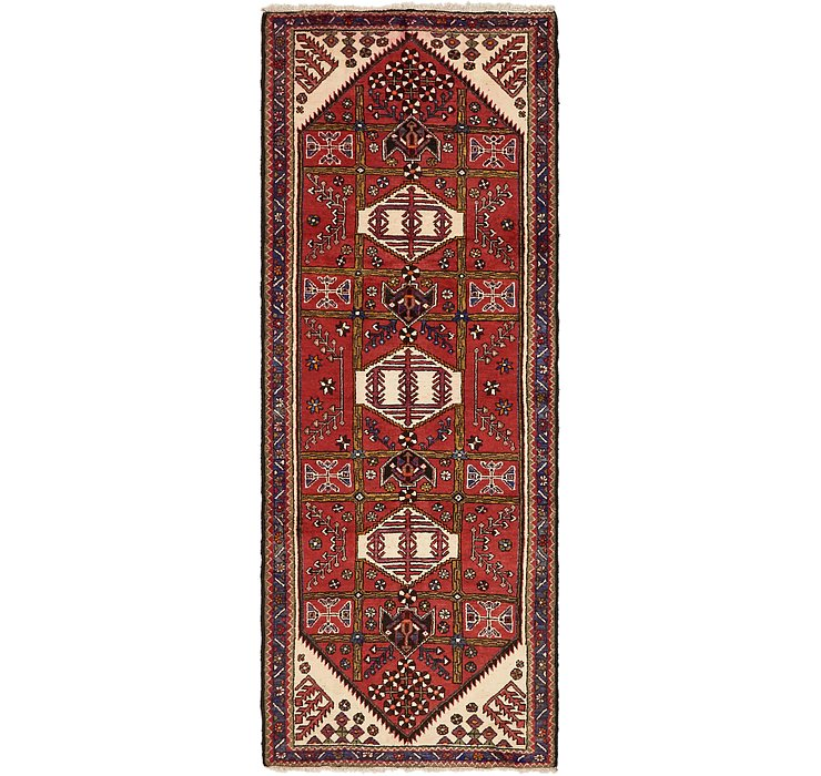 3' 9 x 9' 6 Saveh Persian Runner Rug