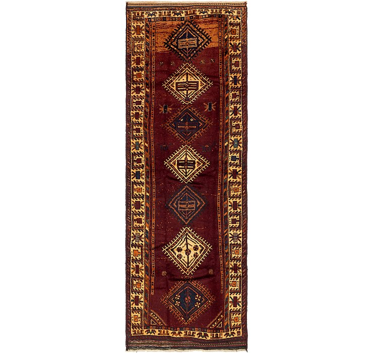 130cm x 375cm Shiraz-Lori Persian Run...