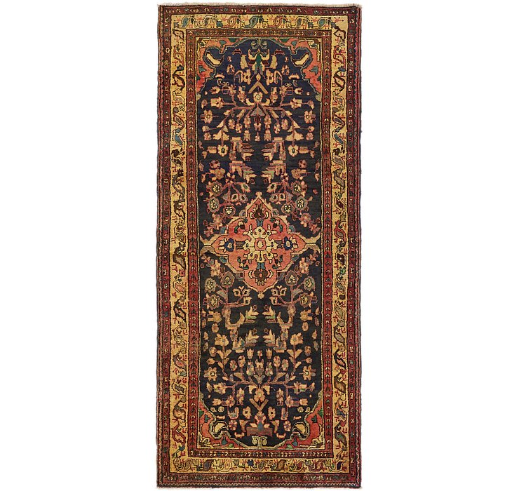 3' 8 x 9' 2 Hamedan Persian Runner ...