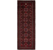 Link to 3' 9 x 11' Balouch Persian Runner Rug