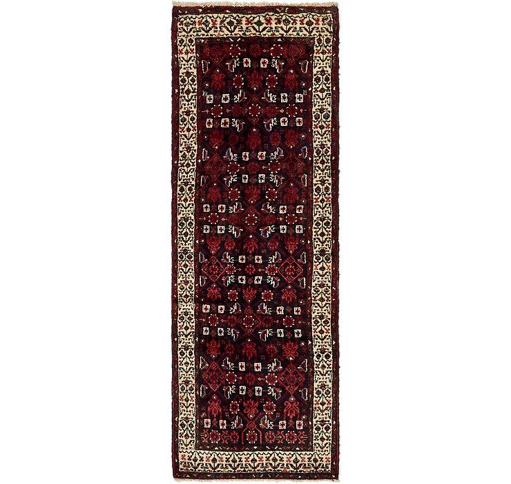 3' 3 x 9' 9 Hossainabad Persian Run...