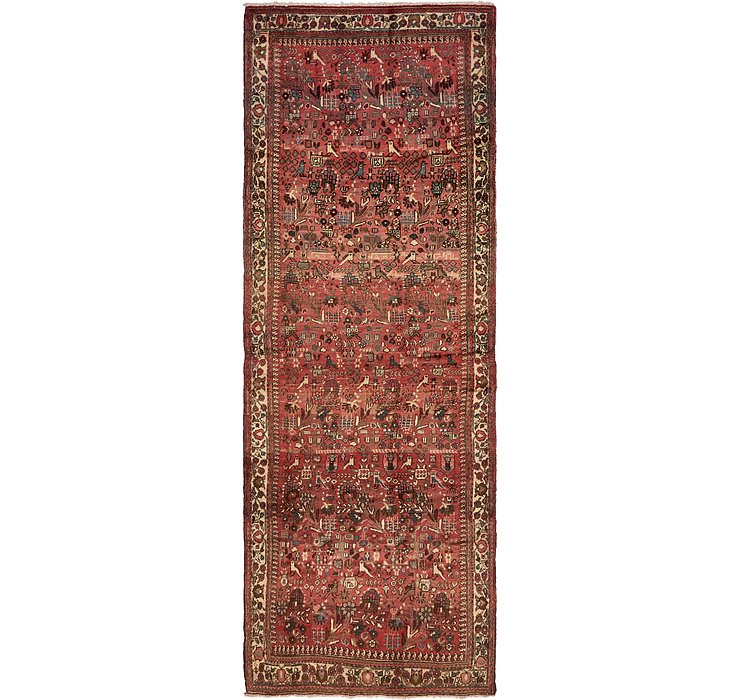 4' 8 x 13' Roodbar Persian Runner ...