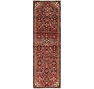 Link to 2' 10 x 9' 4 Hossainabad Persian Runner Rug