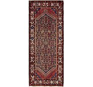 Link to 3' 7 x 9' 4 Hossainabad Persian Runner Rug