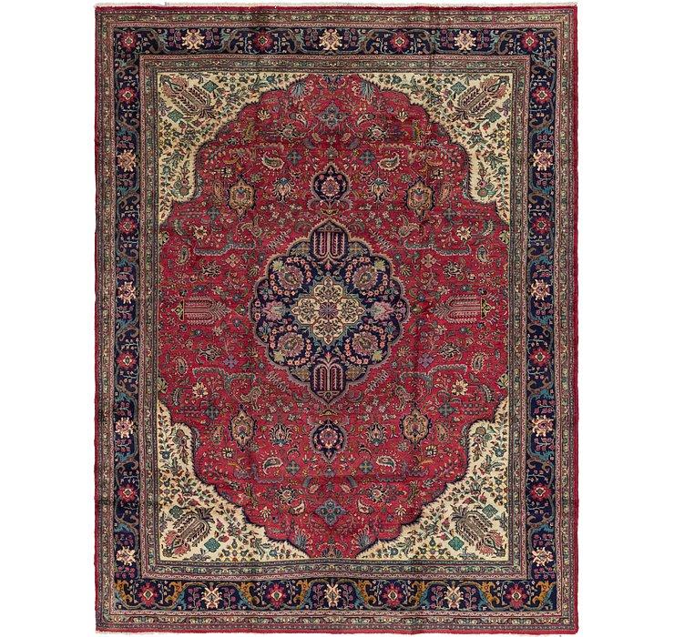 9' 4 x 12' 9 Tabriz Persian Rug